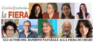 Gli autori del Bambino Naturale alla Fiera di Chiari del 6 e 7 maggio!