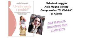 Sonia Coluccelli ad Albinia (GR) per parlare di scuola e pedagogia montessoriana