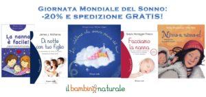 Giornata Mondiale del Sonno: -20% e spedizione gratis sui libri che parlano della nanna!