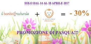 Promo di Pasqua: -30% se acquisti due libri sul sito bambinonaturale.it!!!