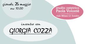 """Sondrio: Giorgia Cozza presenta """"Benvenuto fratellino, benvenuta sorellina"""""""