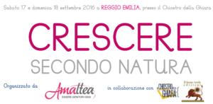 Reggio Emilia: Crescere secondo natura - iniziativa per genitori e figli