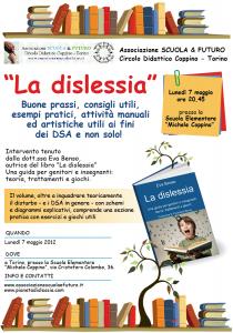 Bambino dislessico, un incontro a Torino