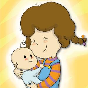 bimba e bebè personaggi libri per bambini