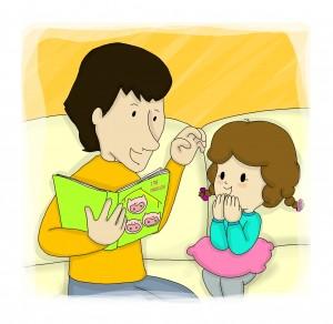 Un libro per bambini dedicato al papà