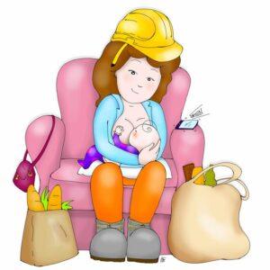 La Settimana Mondiale dell'Allattamento al seno illustrata da noi!