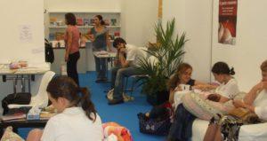 Anche quest'anno l'Angolo della poppata al Salone Internazionale del Libro di Torino