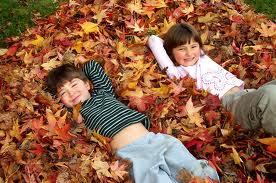 Giochi e attività per bambini in autunno