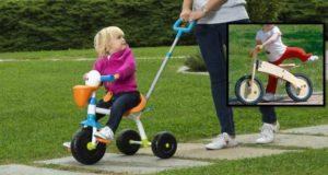 Liberi di esplorare! Triciclo e bici per bambini a confronto