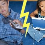 I genitori possono proteggere i figli dal bombardamento mediatica