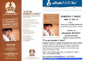Sonno, latte materno e bisogni reali dei bambini in Emilia Romagna