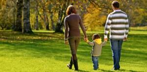 Camminare con i bambini più grandicelli
