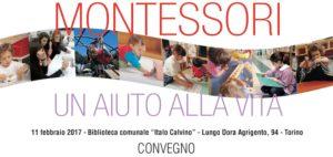 Convegno Montessori a Torino l'11 febbraio 2017