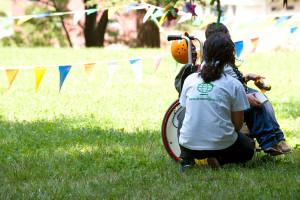 Dinamo Camp, salute e benessere dei bambini speciali, con un sorriso