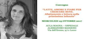 Giorgia Cozza parlerà di latte e fiabe a Lecco