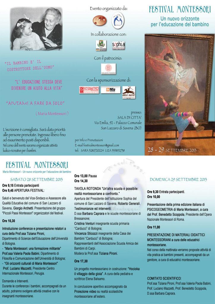 locandina evento metodo montessori