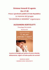 Sonno e bisogni dei bambini e latte materno a Oristano