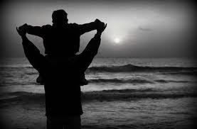 Fine settimana con papà: un pomeriggio al mare