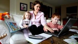 Aumentano le mamme con lavoro in proprio