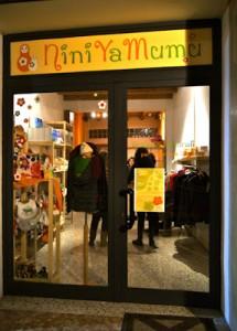 negozio incontro su alimentazione allattamento bambino