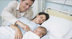 Il 92% dei papà italiani in sala parto