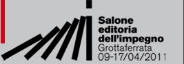 Il Bambino Naturale vi dà appuntamento al Salone dell'Editoria dell'Impegno, Grottaferrata 9-17 aprile 2011