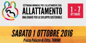 Torino, 1 Ottobre, SAM2016, parliamo di allattamento con Giorgia Cozza!