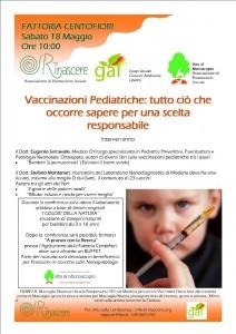 Vaccinare i bambini, un incontro a Modena