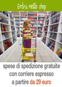 banner spese spedizione sconti libri bambino naturale