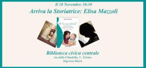 """Arriva la storiatrice"": Elisa Mazzoli a Torino!"