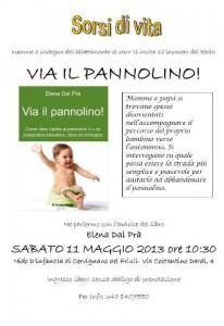 Togliere il pannolino, un incontro a Cervignano del Friuli
