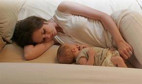 allattamento sonno