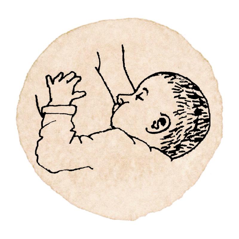 Allattamento icona