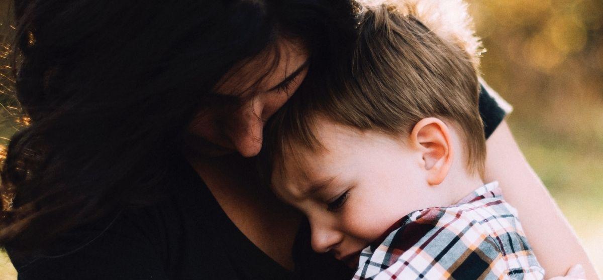 Se il bambino piange usiamo l'empatia.