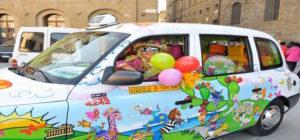 taxi dei bambini