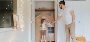 Una casa a misura di bambino ti aiuterà a restare a casa!