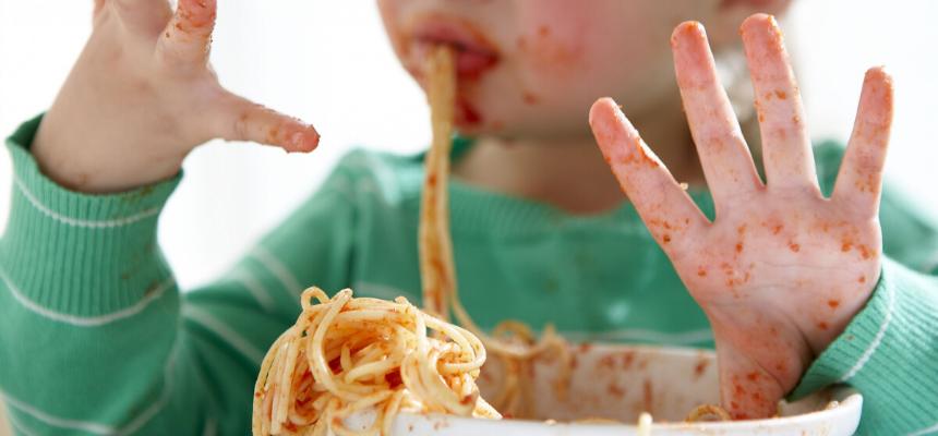Mangiare con le mani… perché no?