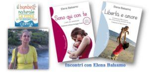 Elena Balsamo alla Fiera del Bambino Naturale di Cervia