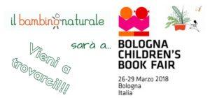 IL BAMBINO NATURALE ALLA BOLOGNA CHILDREN'S BOOK FAIR