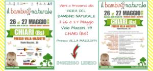 PROGRAMMA DELLA FIERA DEL BAMBINO NATURALE!
