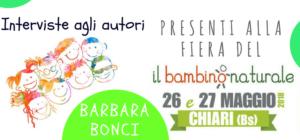 Barbara Bonci, autrice del libro Amore a fior di pelle, alla Fiera del Bambino Naturale