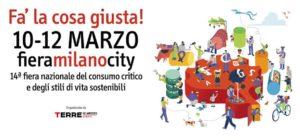 I libri del Bambino Naturale a Fa' la cosa giusta, Milano!
