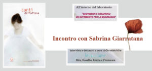 Incontro con Sabrina Giarratana e i Canti dell'Attesa a Rimini!