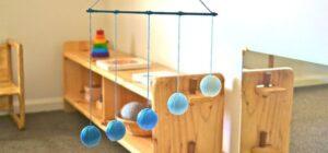 Le giostrine Montessori per il neonato