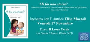 Incontro con Elisa Mazzoli nella sede del Bambino Naturale!