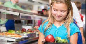Un menu vegan alla mensa della scuola!