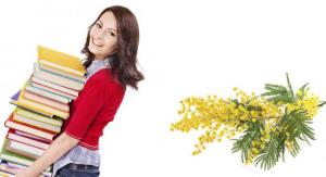 """8 Marzo: Promozione """"Mimosa"""" 15% di sconto e zero spese spedizione"""