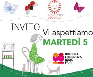 I libri del Leone verde PICCOLI a Bologna Children's Book Fair