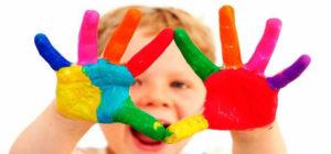colori a dito