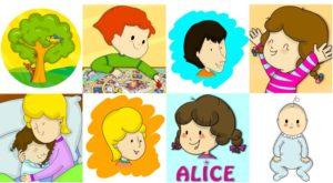 In regalo l'album da colorare delle Storie di Alice